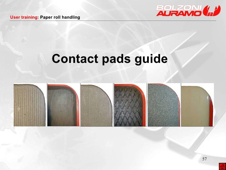 Contact pads  guide