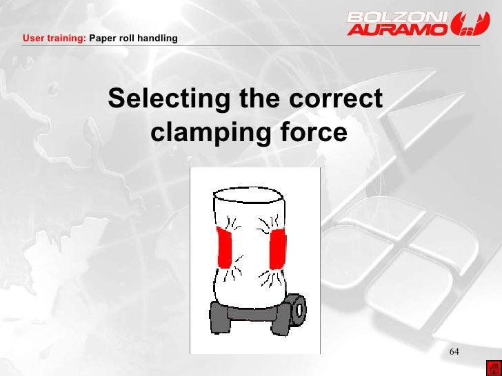 Selecting the correct  clamping force