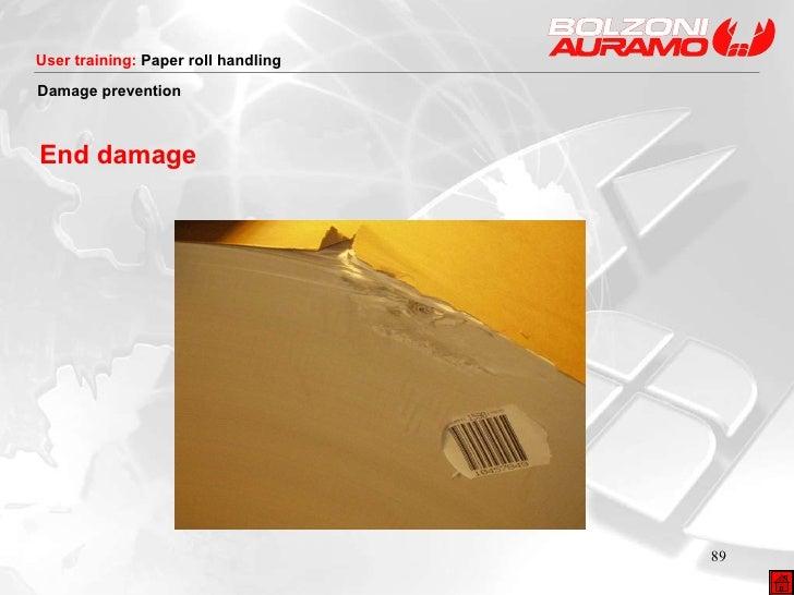 End damage Damage prevention