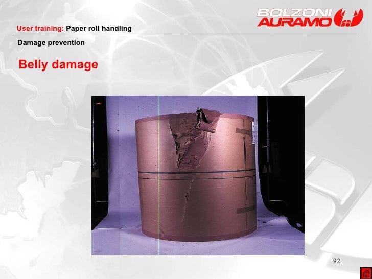 Belly damage Damage prevention