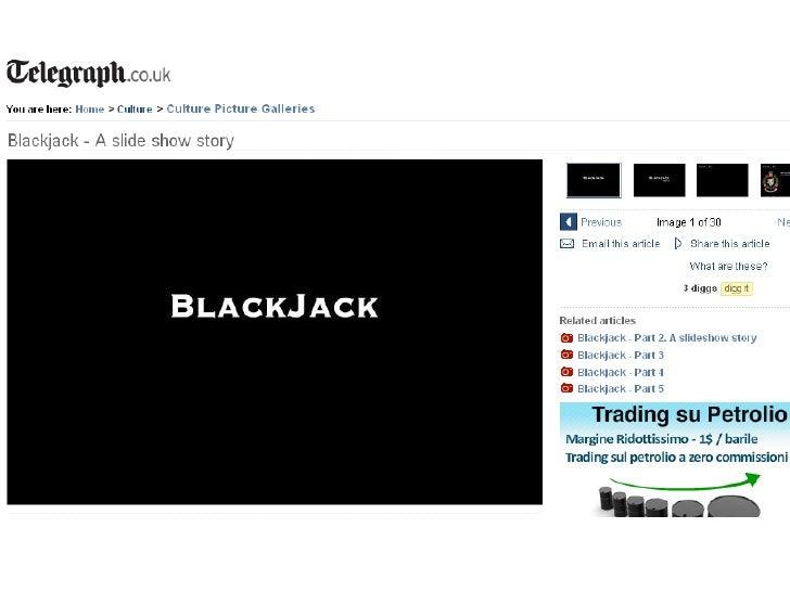 Operazione Blackjack Slide 2
