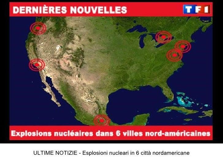 ULTIME NOTIZIE - Esplosioni nucleari in 6 città nordamericane