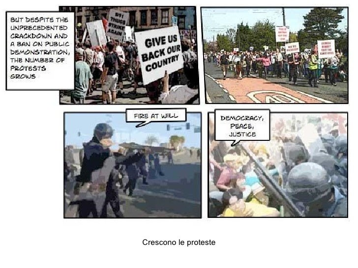 Crescono le proteste