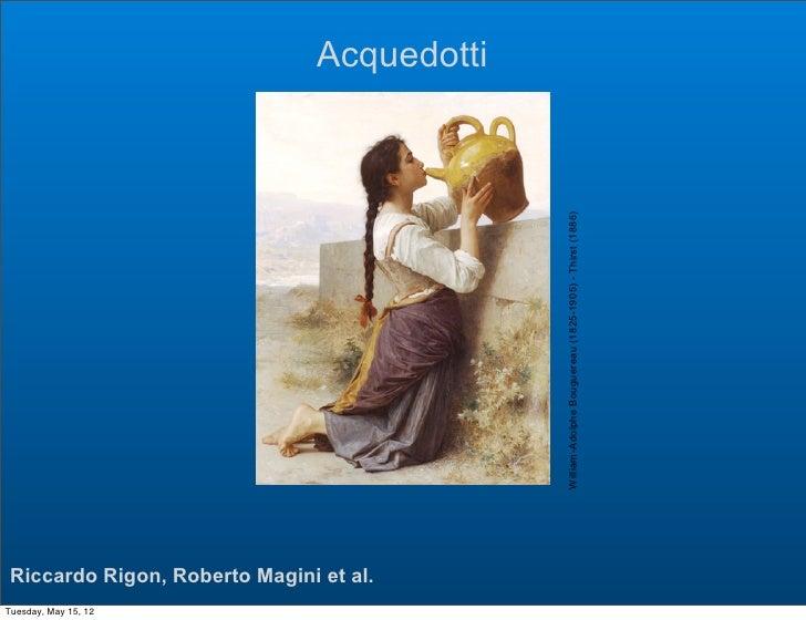 Acquedotti                                             William-Adolphe Bouguereau (1825-1905) - Thirst (1886) Riccardo Rig...