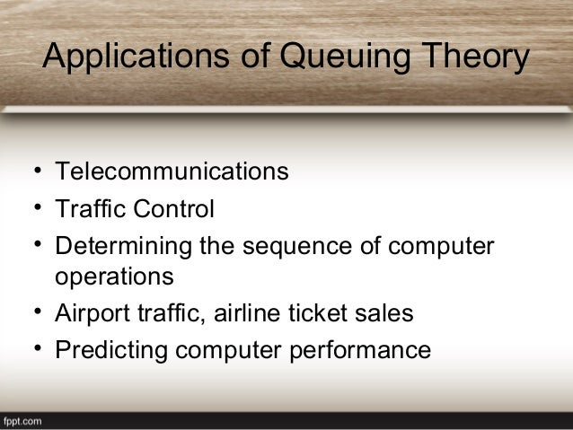 queuing and waiting line theory example This example shows how to model a  queuing theory provides exact theoretical results for some performance measures of an m/m/1 queuing system and this model.