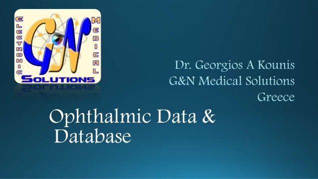 Ophthalmic Data & Database