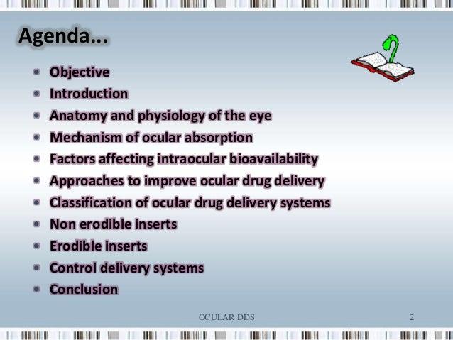 ophthalmic drug delivery system pdf