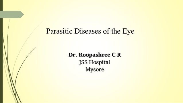 Ophthalmic parasitology