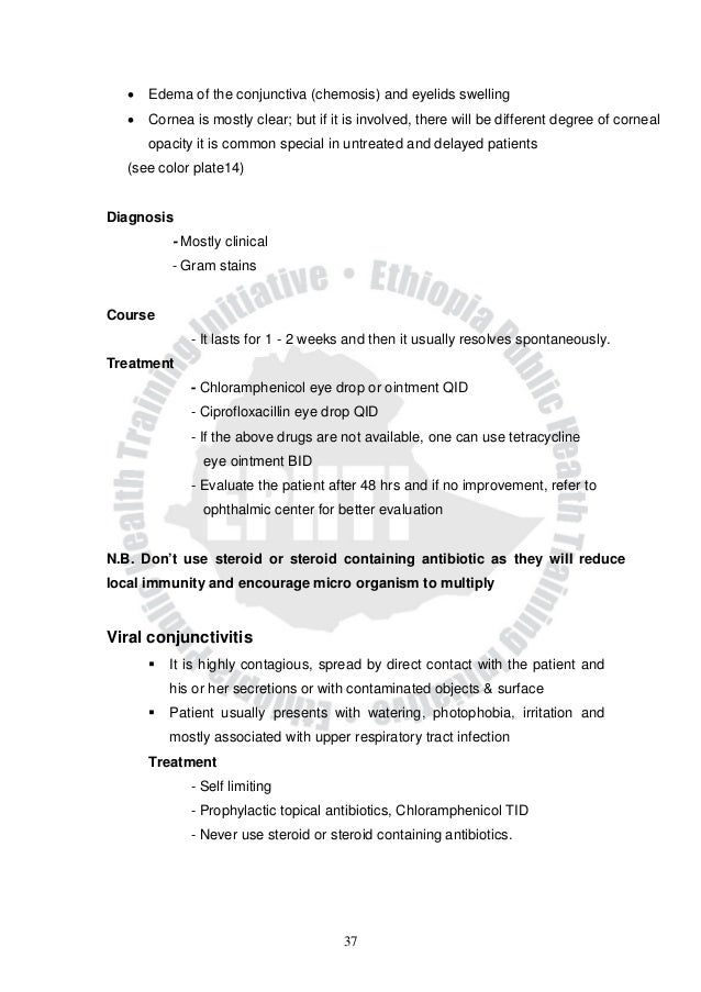 Sample Ophthalmology Note