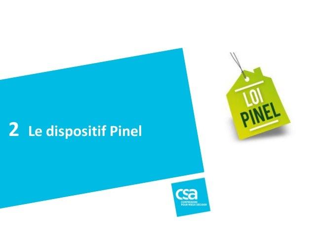 La situation politiqueà Villefranche sur Mer - Novembre2013 14 Le dispositif Pinel2