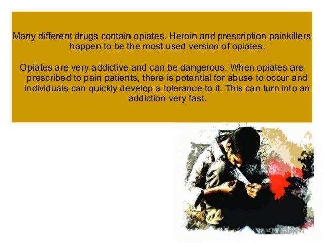 Opiate addiction treatment center Slide 3