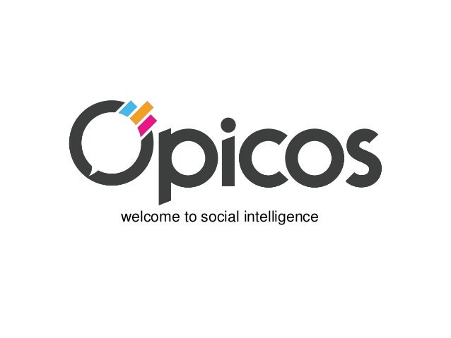 welcome to social intelligence