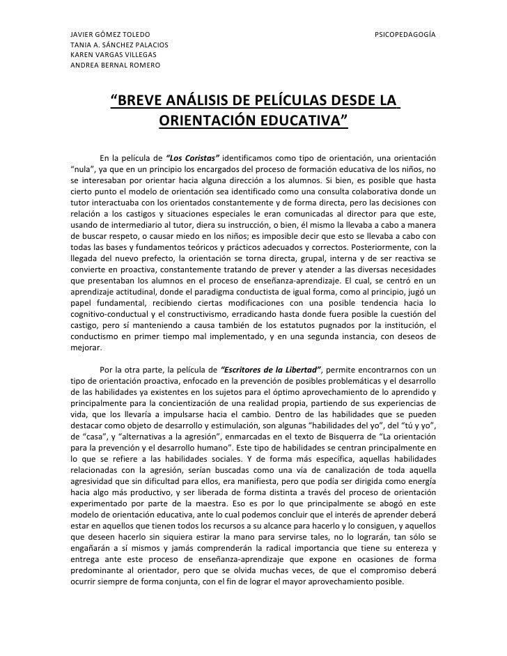 JAVIER GÓMEZ TOLEDO                                                                PSICOPEDAGOGÍA TANIA A. SÁNCHEZ PALACIO...