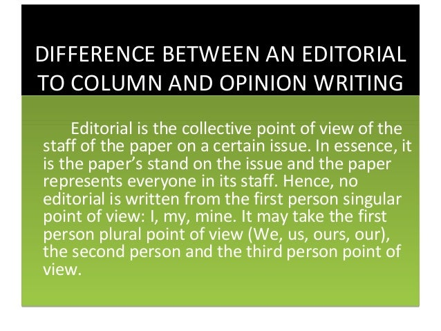 Ten Tips For Better Column Writing and Article Writing