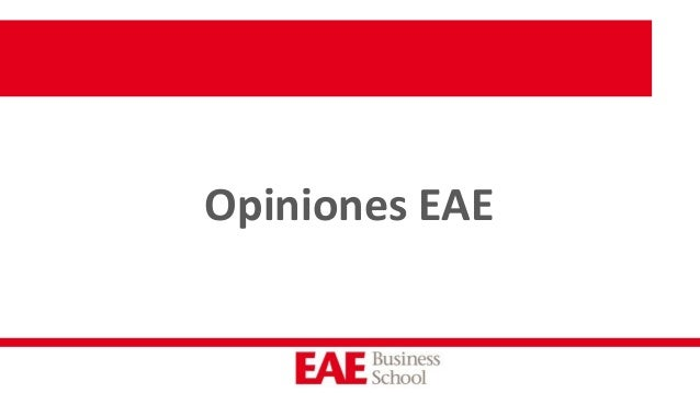 Opiniones EAE