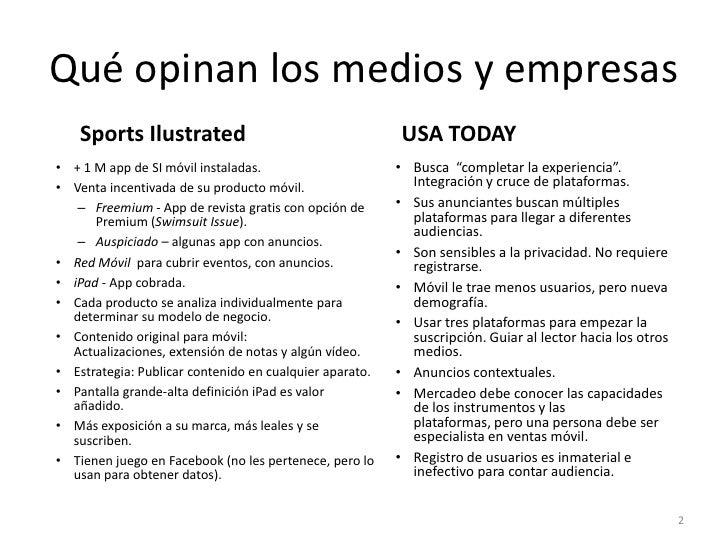Opiniones Medios-Anejo a Presentación Evolución Internet-Móvil Slide 2