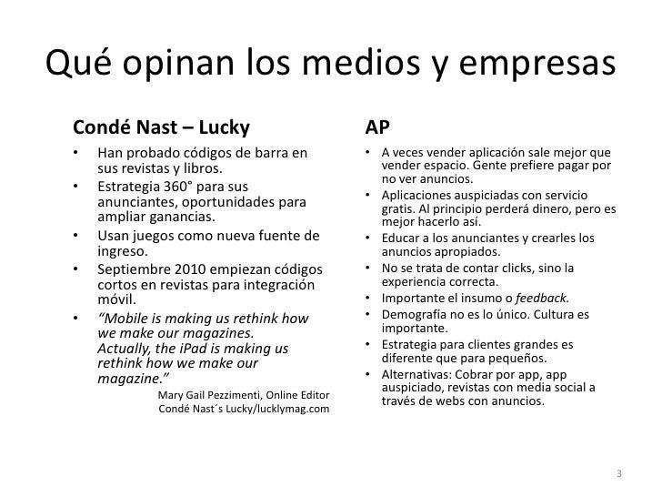 Opiniones Medios-Anejo a Presentación Evolución Internet-Móvil Slide 3