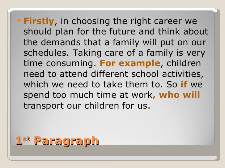 when choosing a career path essay After much thought concerning this area of discussion whilst working through this essay, i would sway contrary to my previous thinking in my introduction, and thus conclude that the deciding factor in choosing a career path would be salary.