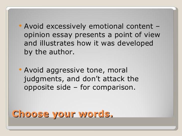 aggressive essay