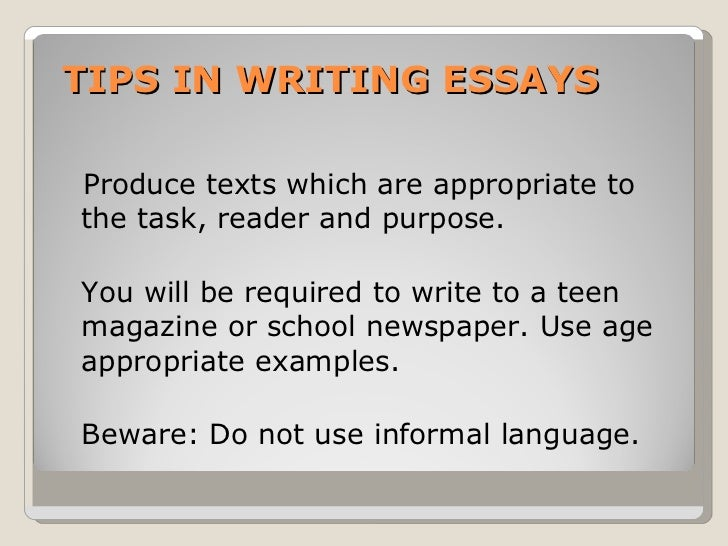 opinion essay  4 tips in writing essays