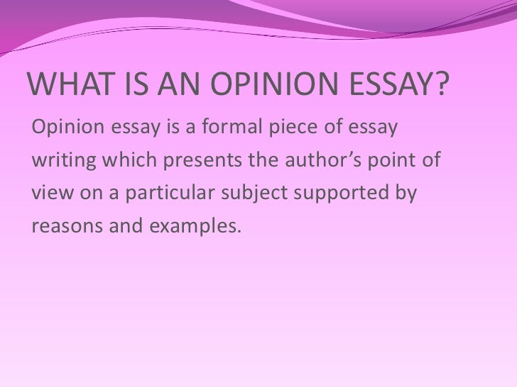 Opinion Essay Examples Of Thesis Statements For English Essays Topics Of Essays For High School Students Opinion Essay Sample Essay Paper also Essays For Kids In English