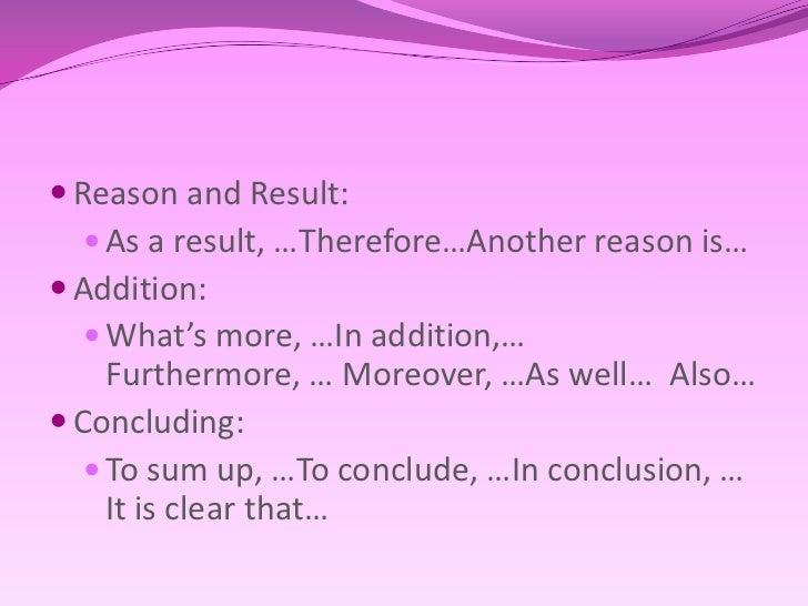 Opinion essay conclusion