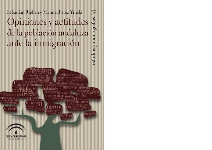 Sebastian Rinken y Manuel Pérez Yruela                                         estudios y monografías [5]Opiniones y actit...