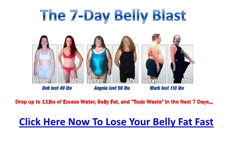 """Drop up to 11lbs of Excess Water, Belly Fat, and """"Toxic Waste"""" in the Next 7 Days… Click Here Now To Lose Your Belly Fat F..."""