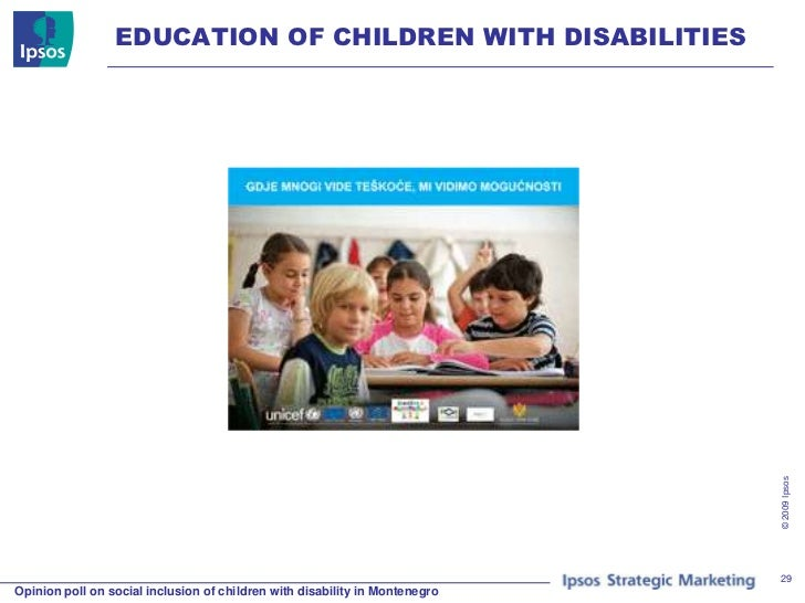 inclusion of children with disabilities Running head: full inclusion and autism 1 the pros and cons of inclusion for children with autism spectrum disorders: what constitutes the least restrictive environment students with disabilities are provided with the services and supports.