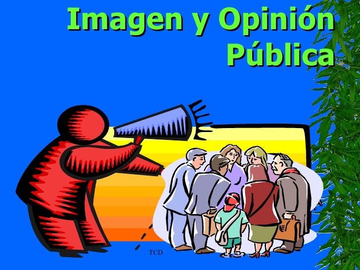 TCD Imagen y Opinión Pública