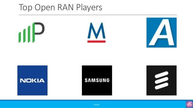 Top Open RAN Players ©3G4G