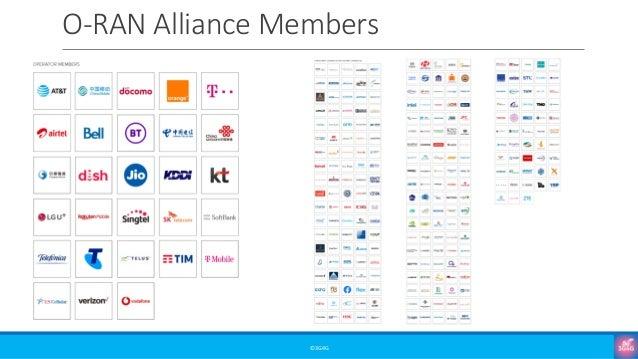 O-RAN Alliance Members ©3G4G