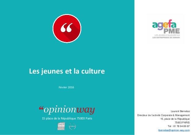 15 place de la République 75003 Paris Laurent Bernelas Directeur de l'activité Corporate & Management 15, place de la Répu...