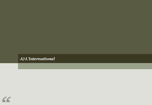 A) L'international