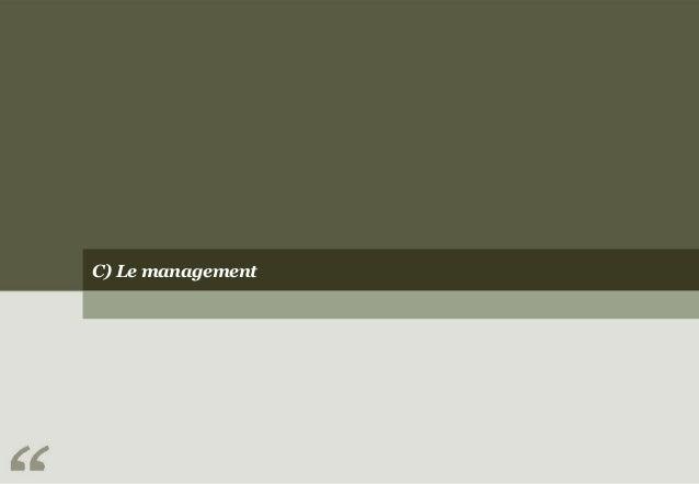 C) Le management