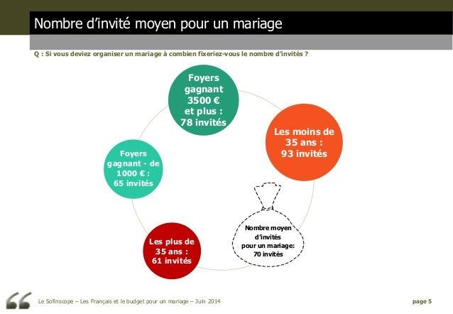 les fran ais et le budget pour un mariage opinionway pour sofinscop. Black Bedroom Furniture Sets. Home Design Ideas