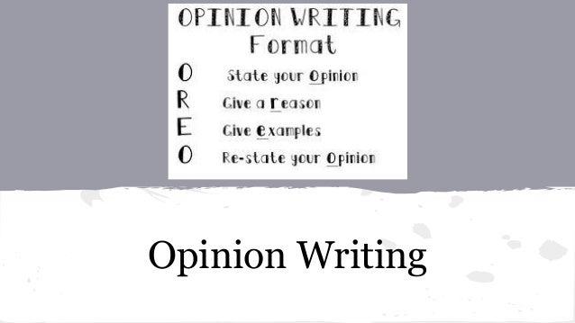 How to write an opinion column ibew