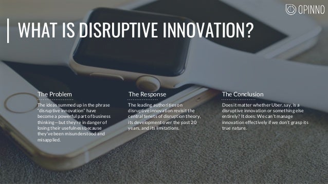 """WHAT IS DISRUPTIVE INNOVATION? The ideas summed up in the phrase """"disruptive innovation"""" have become a powerful part of bu..."""