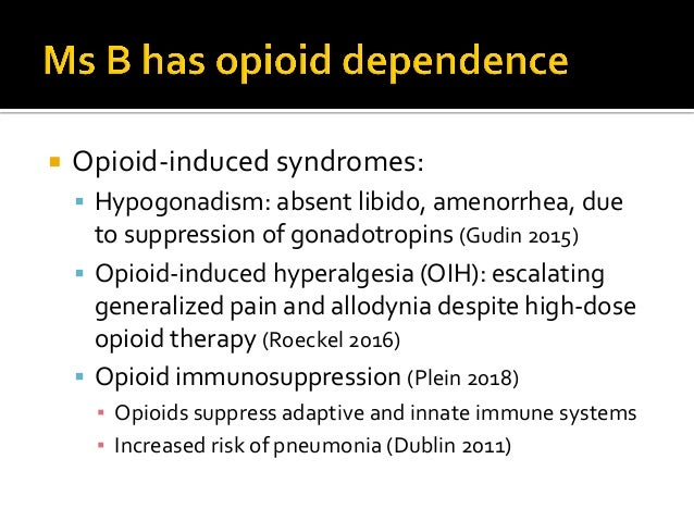  Anhedonia- reward deficiency:  insensitivity to rewards beyond opioids/pain relief  Continual crisis orientation with ...