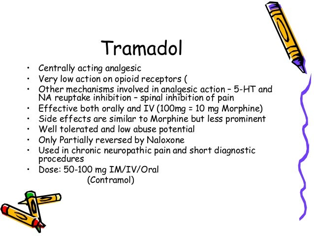 is tramadol an opiate analgesic contract