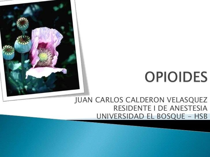 JUAN CARLOS CALDERON VELASQUEZ         RESIDENTE I DE ANESTESIA     UNIVERSIDAD EL BOSQUE - HSB