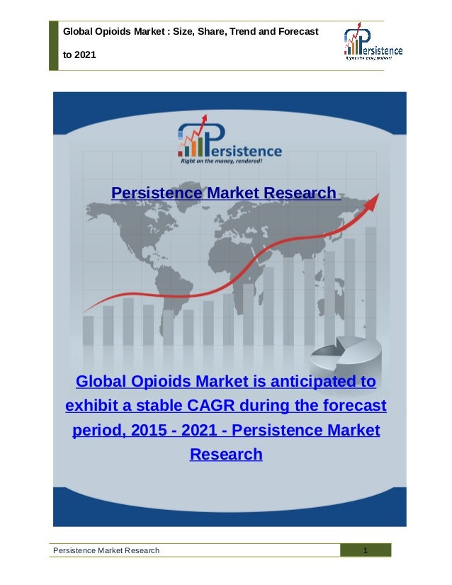 Global Opioids Market : Size, Share, Trend and Forecast to 2021