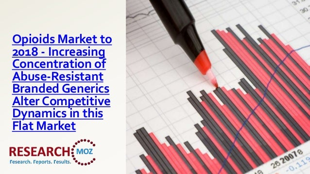 Opioids Market to2018 - IncreasingConcentration ofAbuse-ResistantBranded GenericsAlter CompetitiveDynamics in thisFlat Mar...