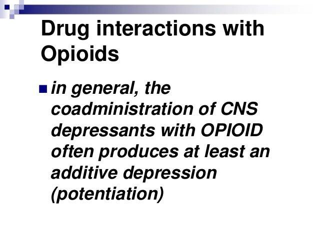 Opioid analgesics (VK)