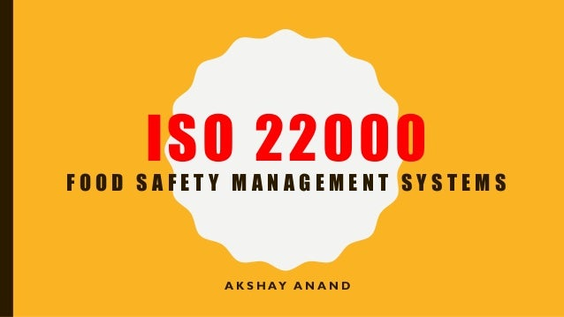 difference between haccp and iso 22000 pdf