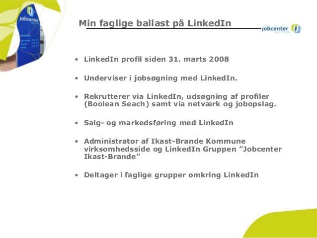 Oplæg ved Jobcenter Ballerup vedr. rekrutteringsstrategi herunder lin…