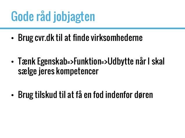 Oplæg jobmulighed Aalborg Universitet