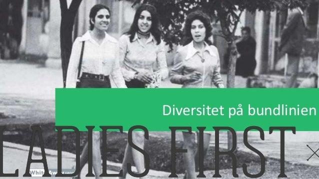 Diversitet på bundlinien