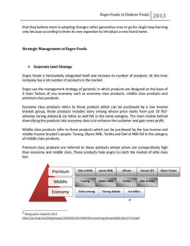 tqm at unilever Total quality management is a business approach aiming at providing quality products to achieve customer satisfaction the paper is literature review based the survey of the researches has helped in the development of proposed framework it shares past practices and approaches to help managers and academicians to.