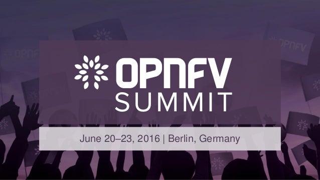 June 20–23, 2016 | Berlin, Germany